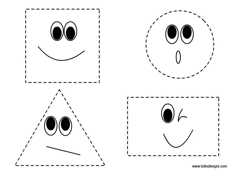 imparare le forme geometriche