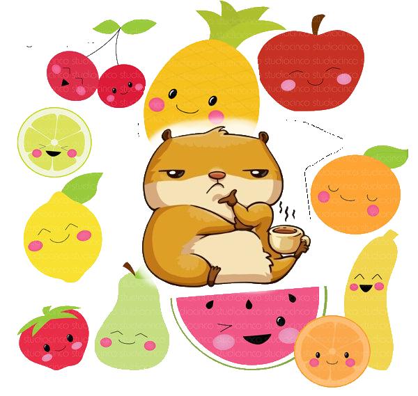 mangusta gusta frutta