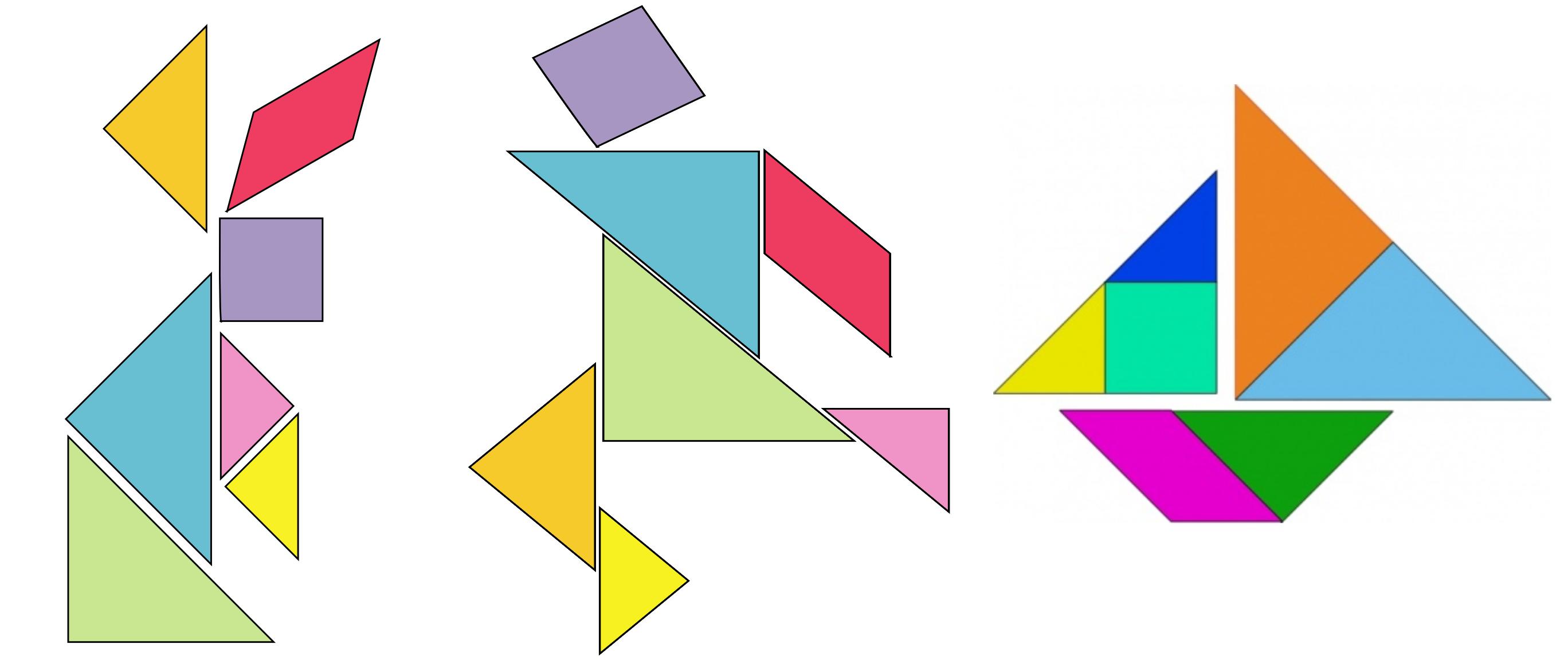 tangram disegni per bambini