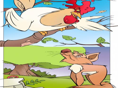 Il gallo e la volpe