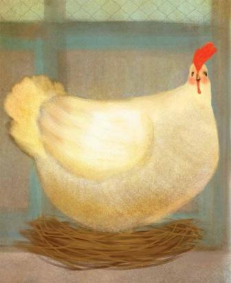 la donna e la gallina