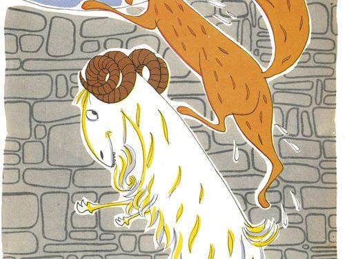 La volpe e il becco nel pozzo