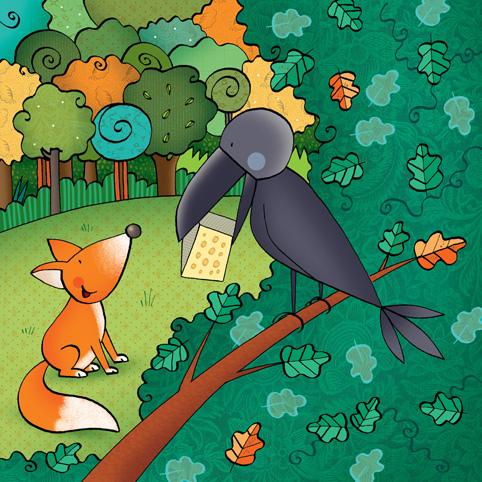 La volpe e il corvo