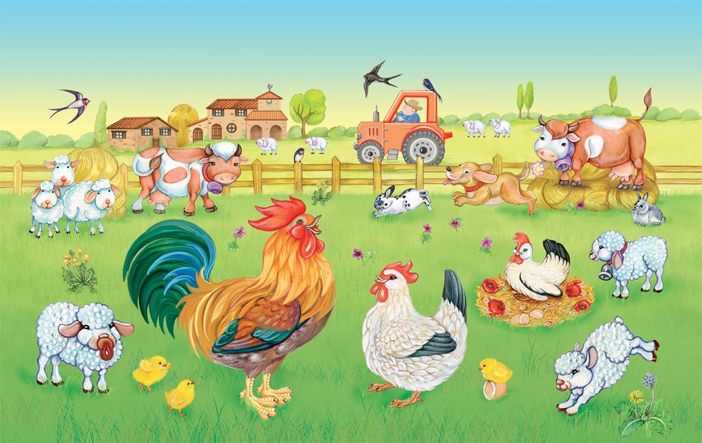Nella vecchia fattoria canzone testo e video animato for Piani di riproduzione della fattoria