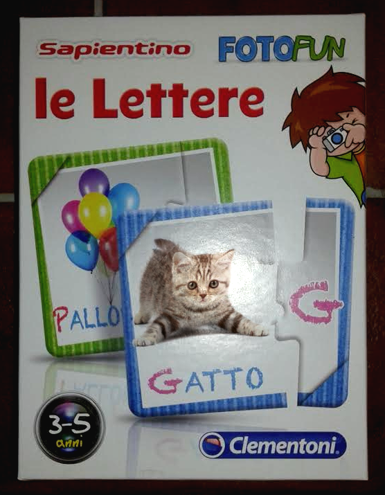 imparare l'alfabeto sapientino
