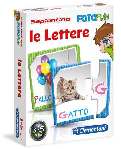 Sapientino Fotofun Lettere - Clementoni Book Cover