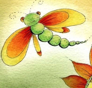 Il bruco e la farfalla