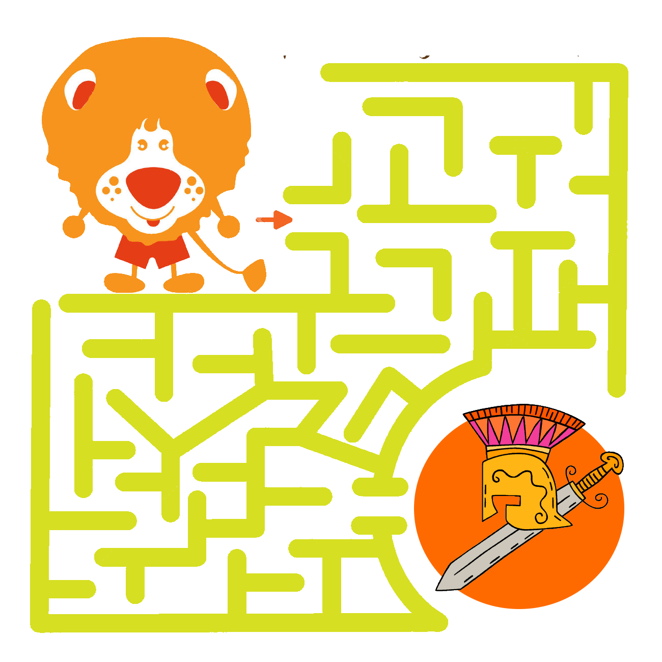 Labirinti Per Bambini Da Stampare E Online In Ordine Di Difficoltà