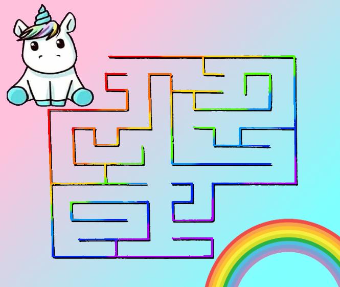 labirinto unicorno