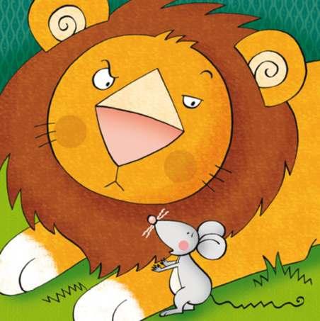 il leone e il topo
