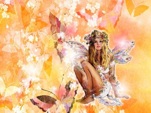 Le farfalle fiorite