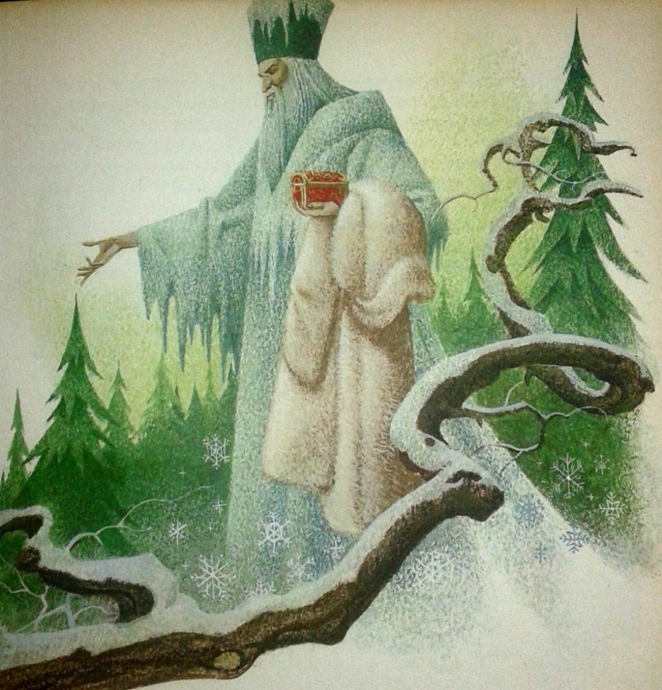 nonno gelo fiaba russa illustrata