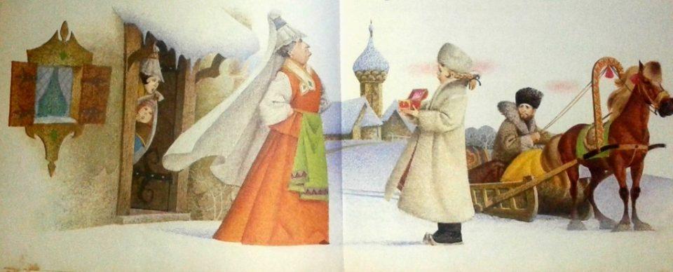 nonno gelo fiaba russa