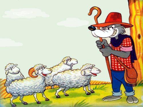 Il lupo pastore