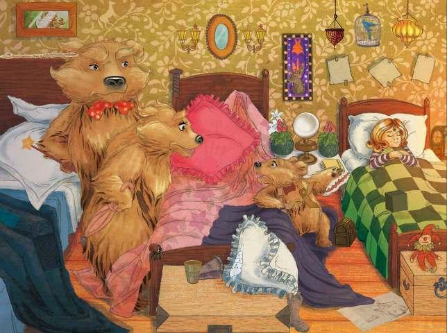 favola riccioli d'oro e i tre orsi