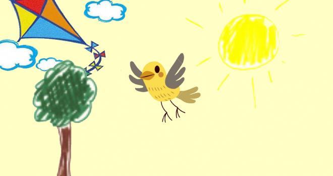 L'uccellino aquilone