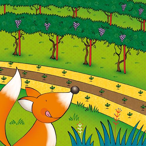 la volpe e l'uva esopo
